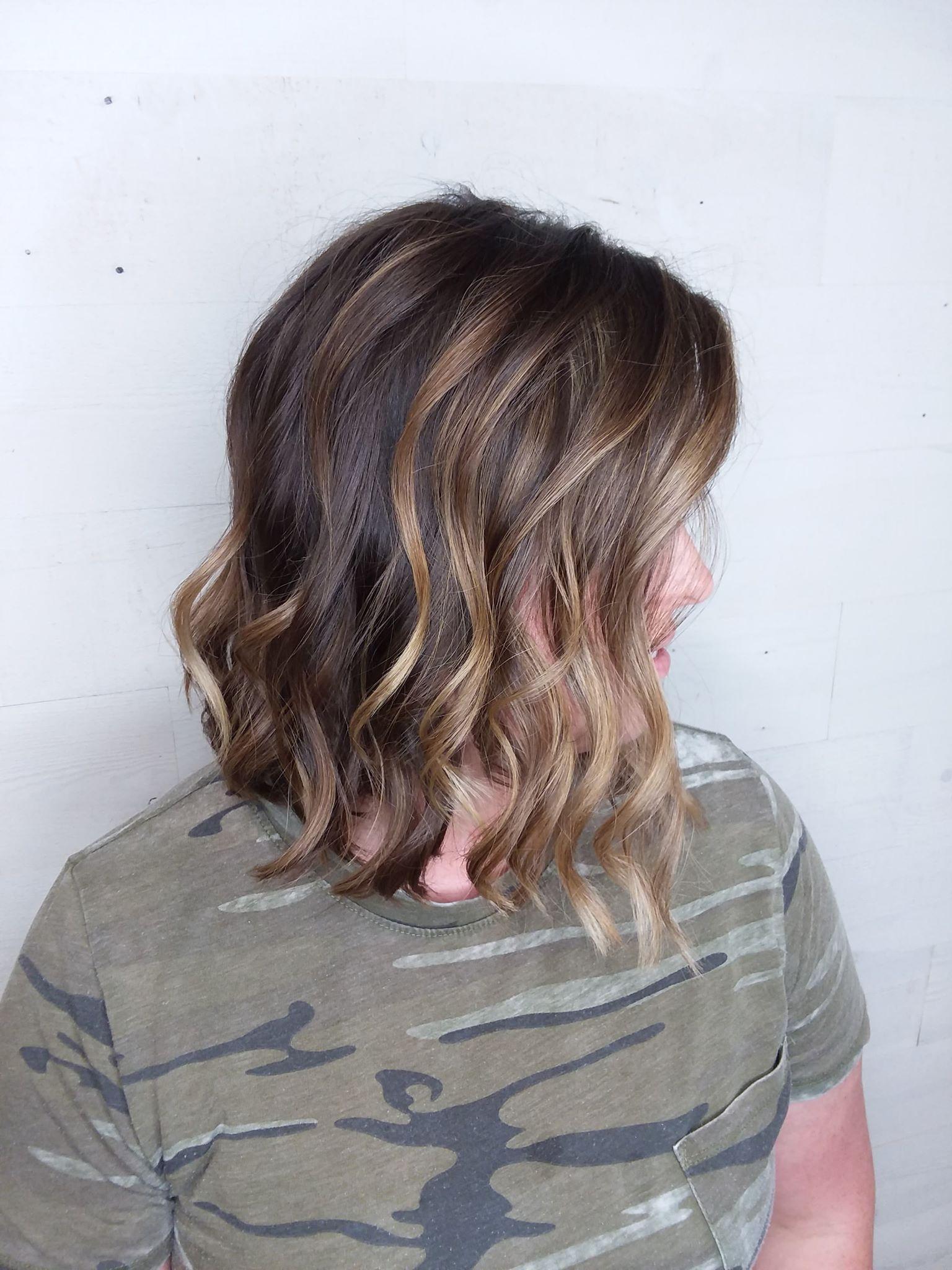 balayage hair color fond du lac salon