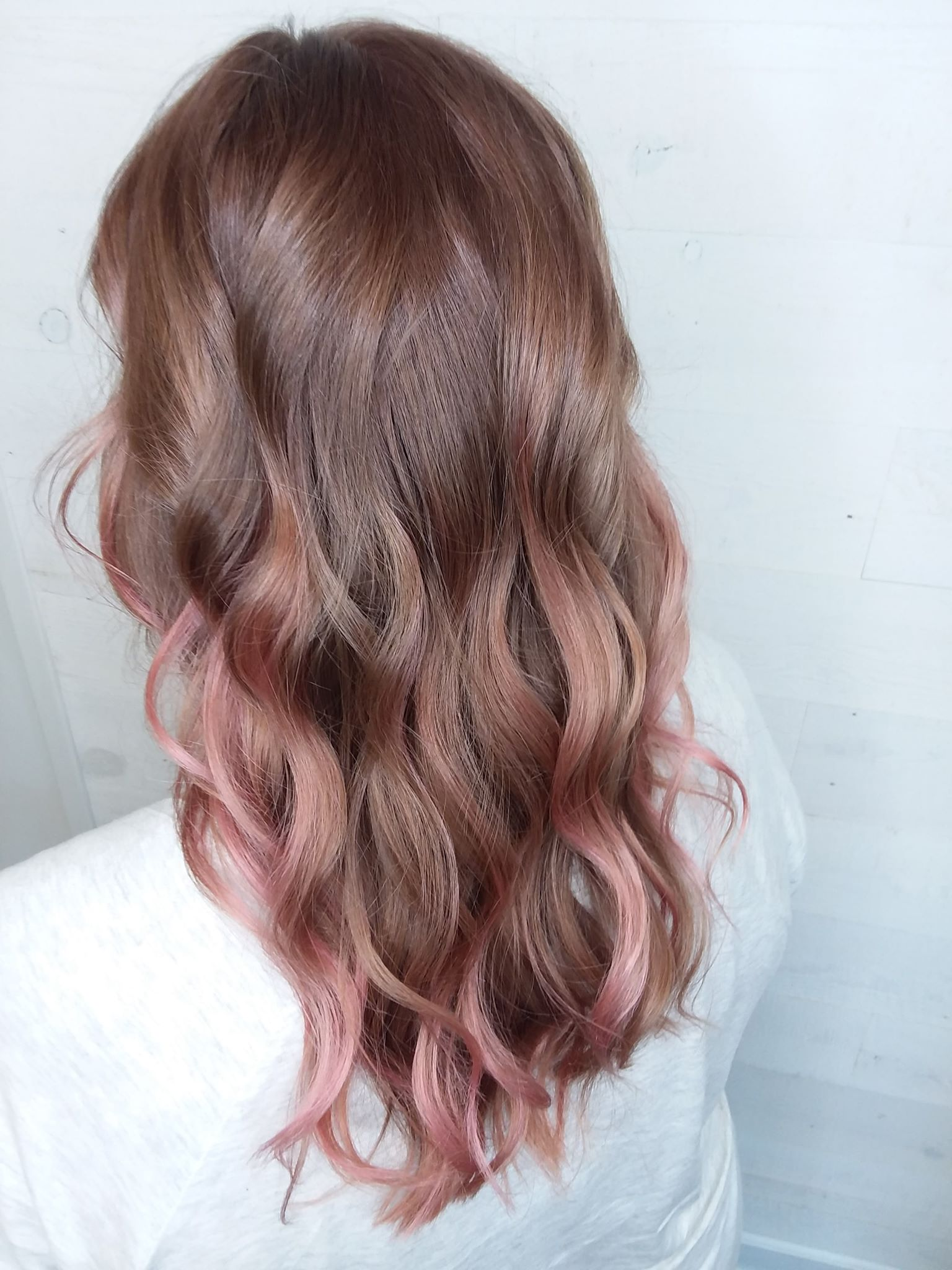 rose gold hair color fond du lac