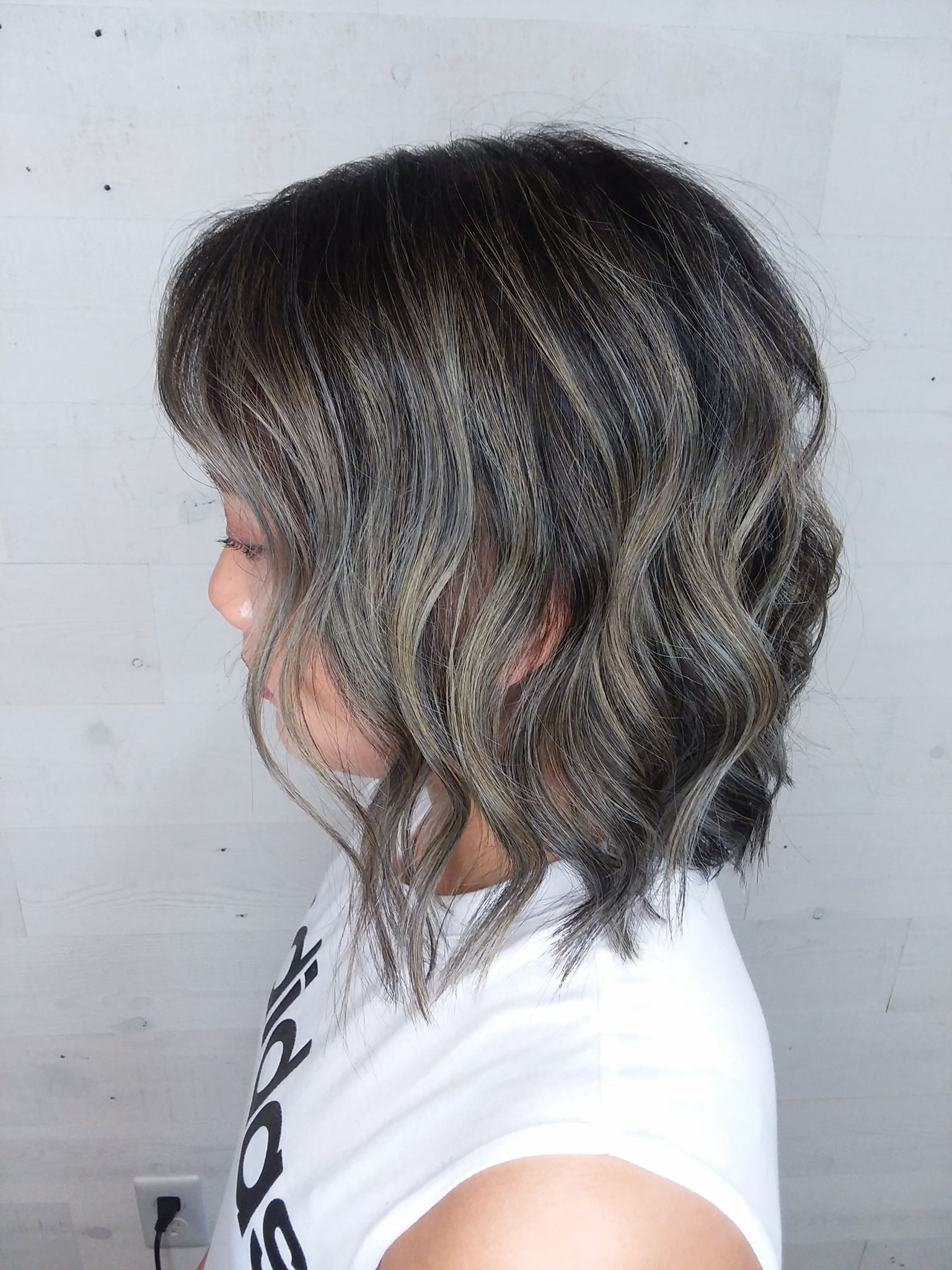 ash gray hair coloring fond du lac